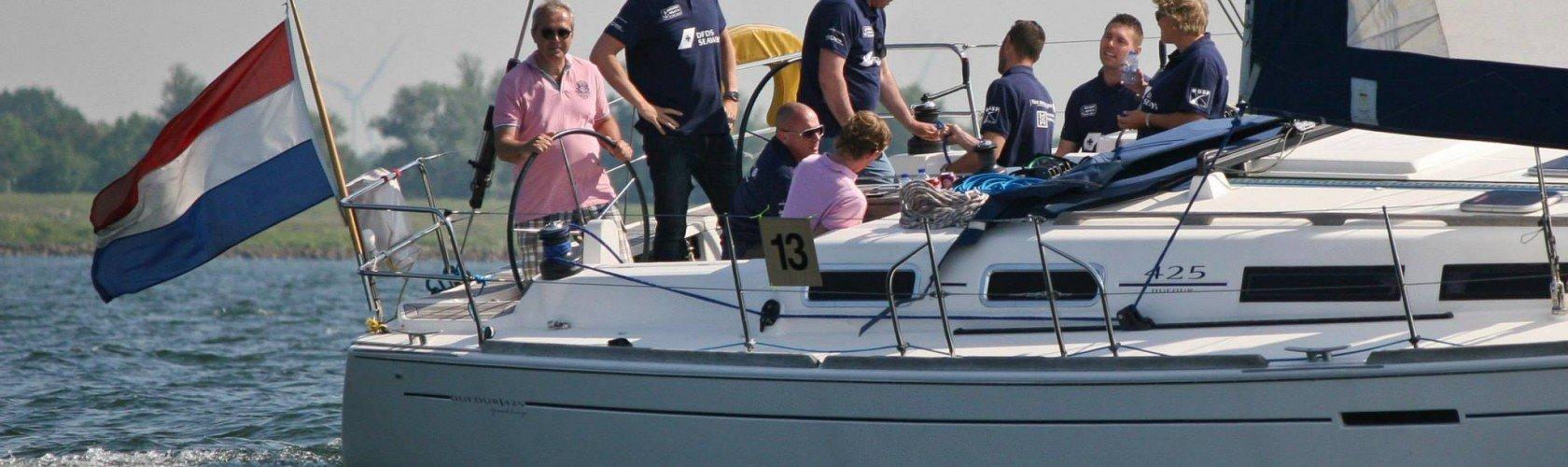 Zeilen met company sailing