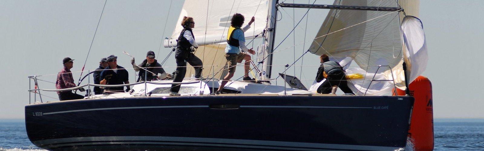Bedrijfsuitje Company sailing
